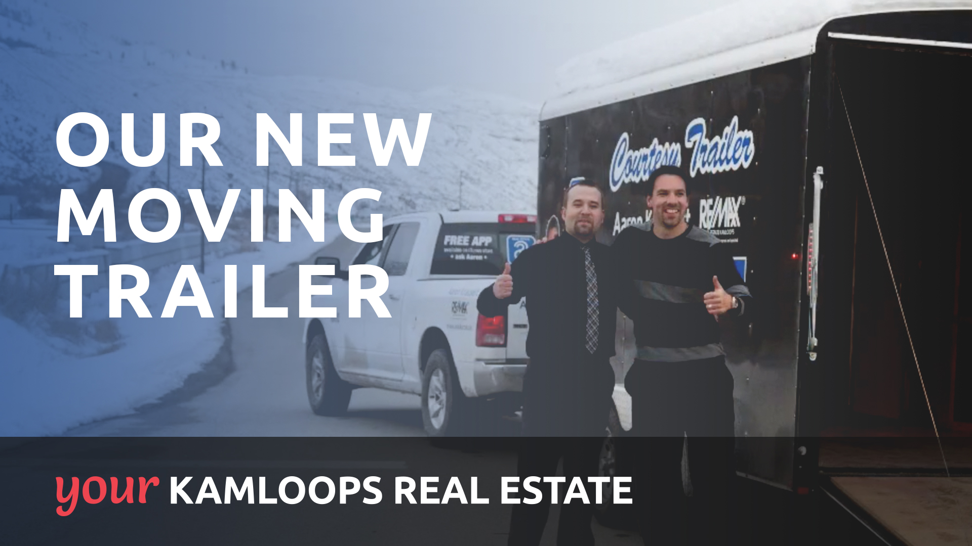 Our New Moving Trailer