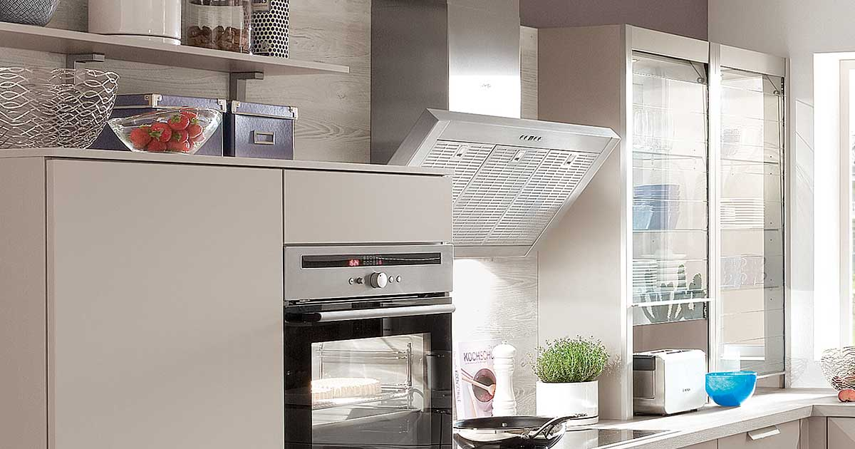 Photo of a cooker extractor hood
