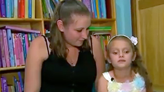 Thanks To Electronic Glasses, Blind Girl Sees Mother Clearly For First Time
