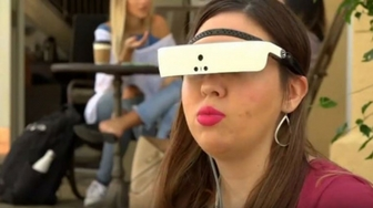 Electronic Glasses Help Blind Woman See 20/20