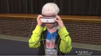 10-Year-Old Gets Surprised With The Gift Of Sight For His Birthday