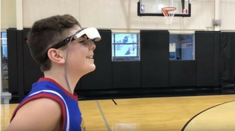 Unbelievable: Blind Boy Sinks NBA 3-Pointer