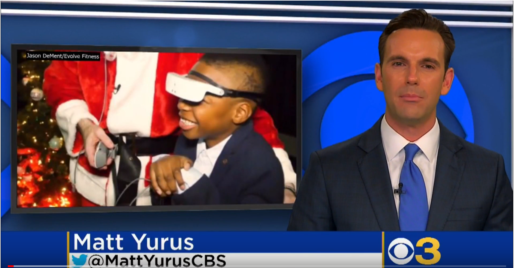 New Jersey Gym Gives Gift Of Sight To Legally Blind Boy For Christmas