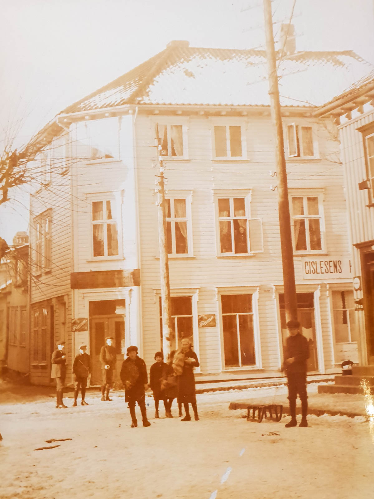 Historisk bilde av hotellet