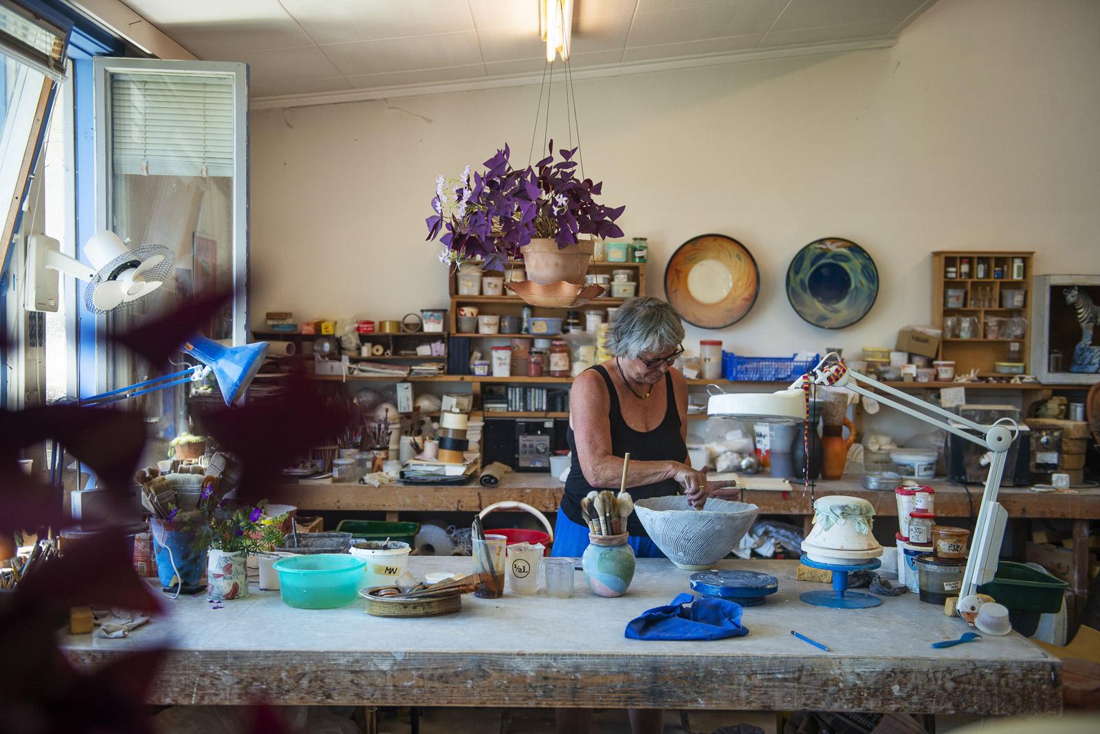 Bilde av keramikker