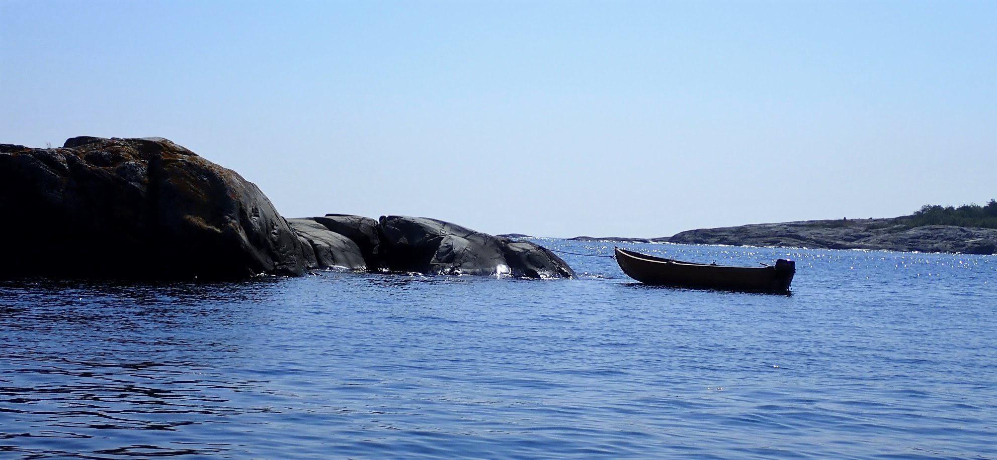 En robåt