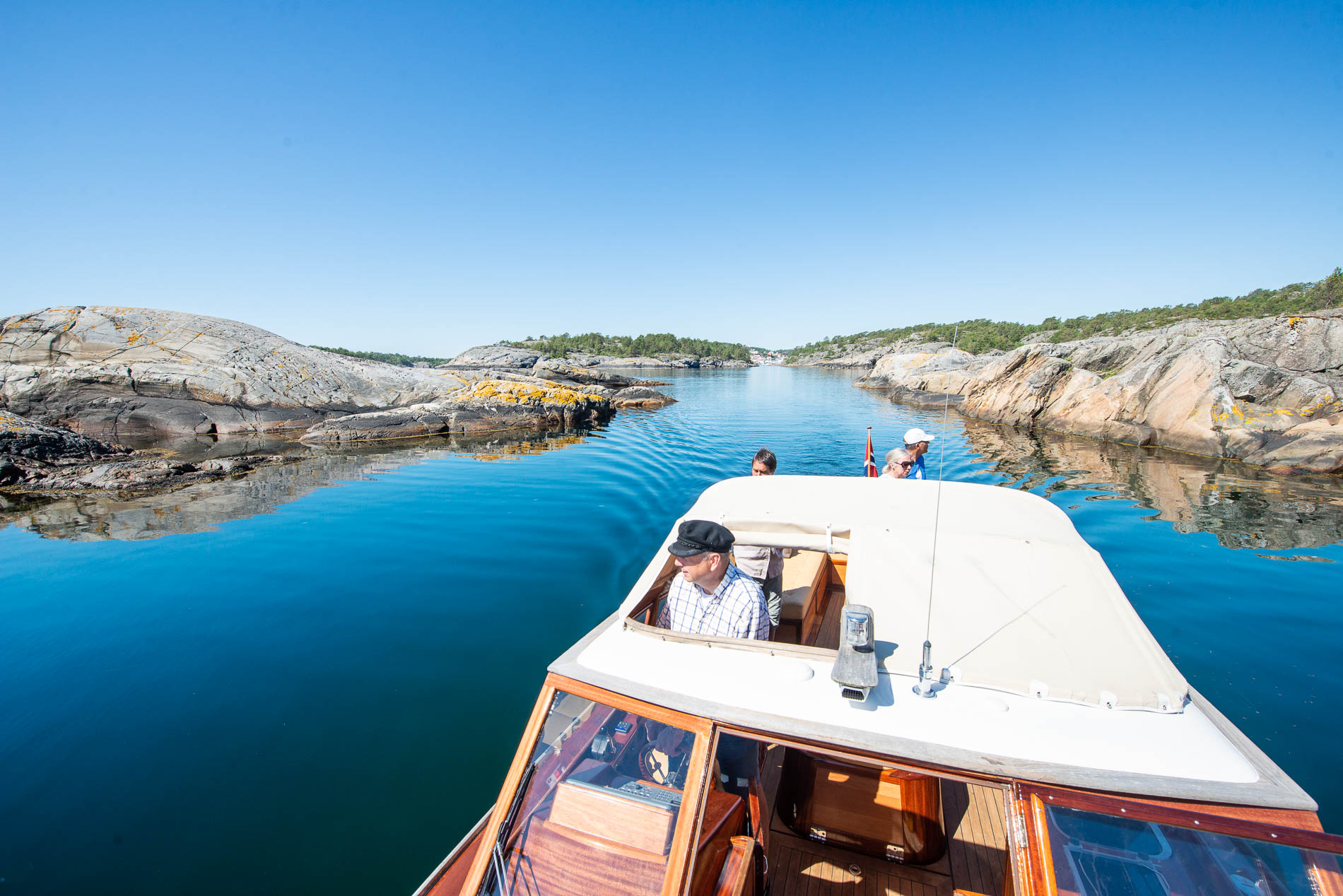 Boat trip in the archipelago