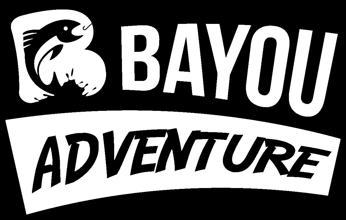 bayou logo white