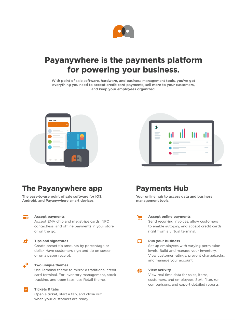 Payanywhere Overview Sell Sheet