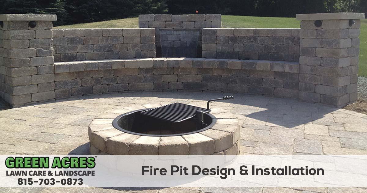 Firepit Installation Service in Northern Illinois