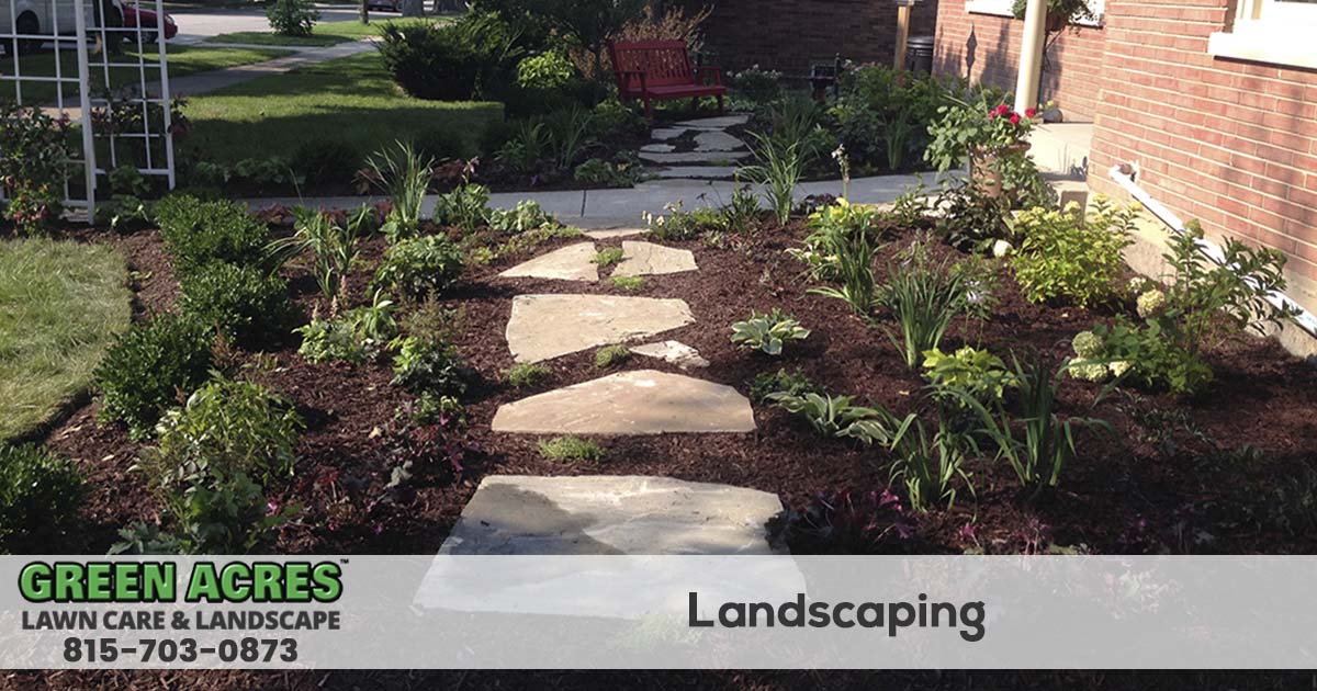 Landscaping design and installation services in northern Illinois