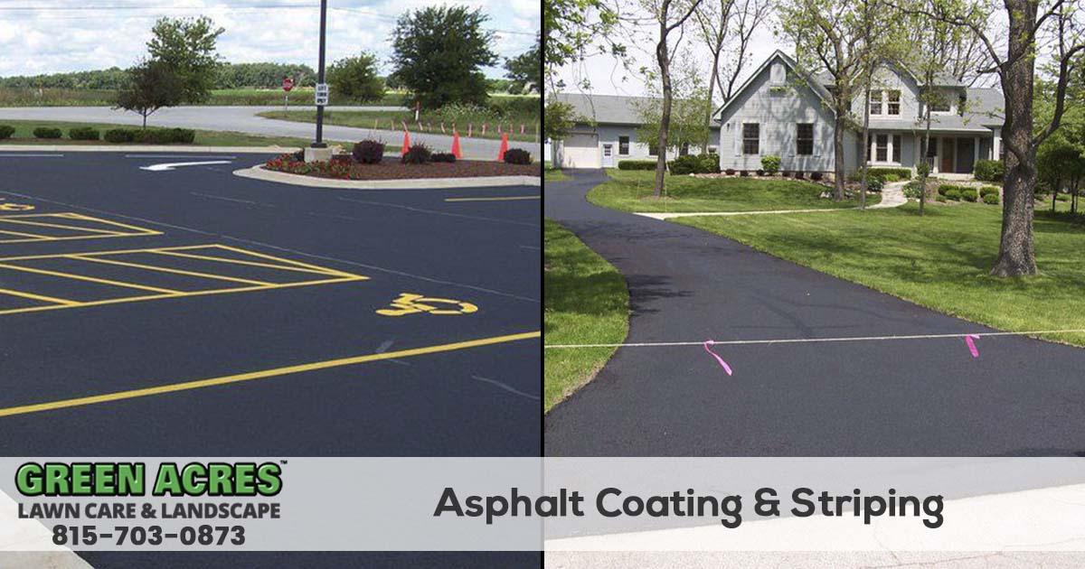 Asphalt Driveway & Parking Lot Sealing Service