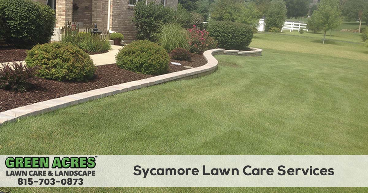 Sycamore Illinois Lawn Care Company