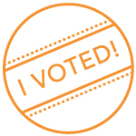 Icon of an I Voted Sticker