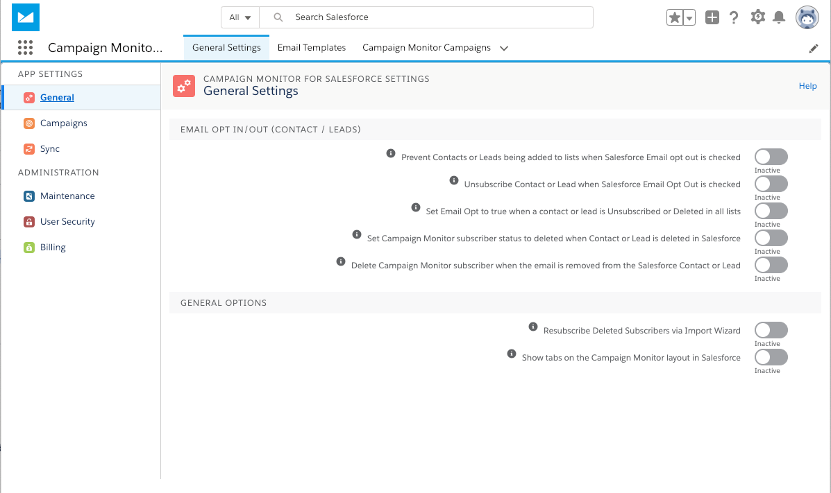 salesforce email opt out