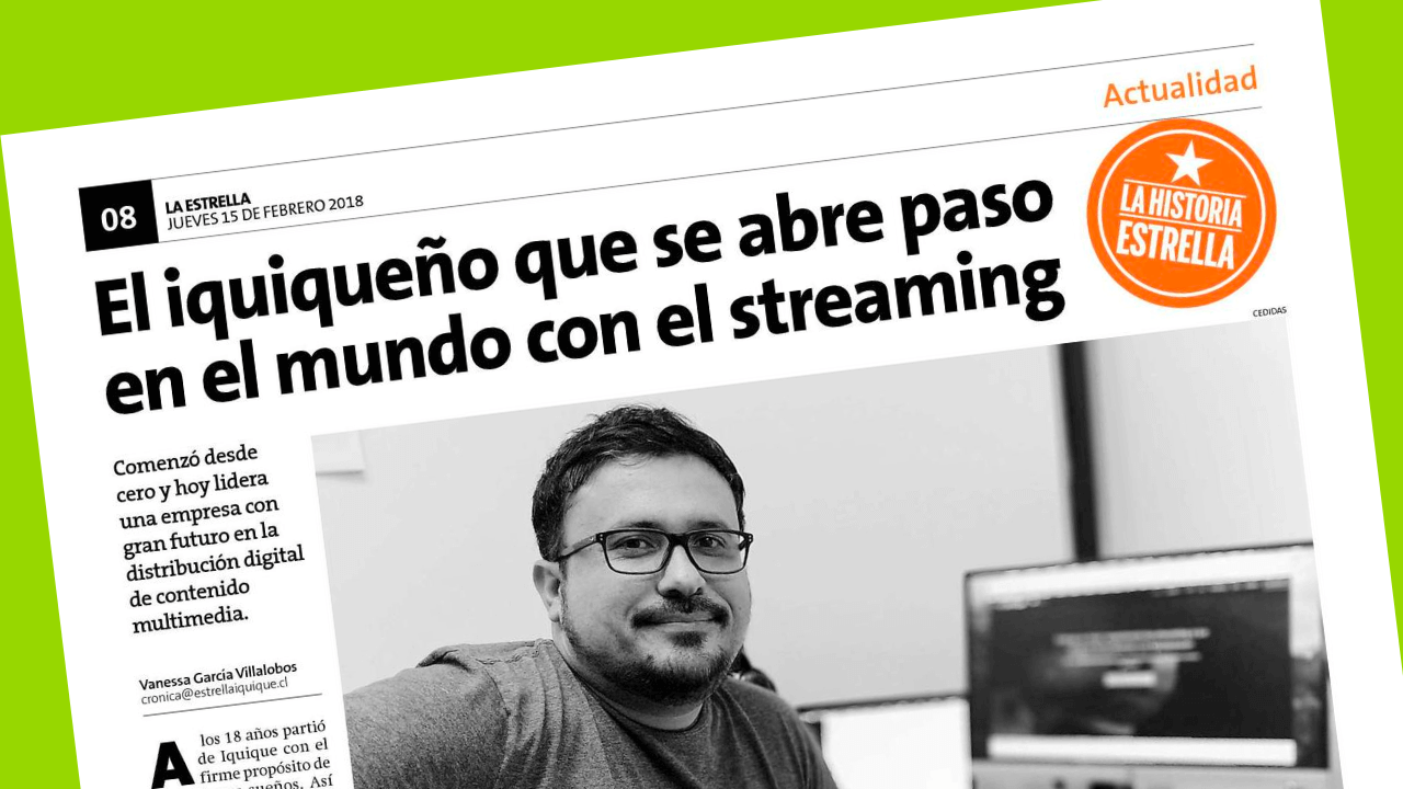 La estrella de Iquique entrevista Luis Ahumada