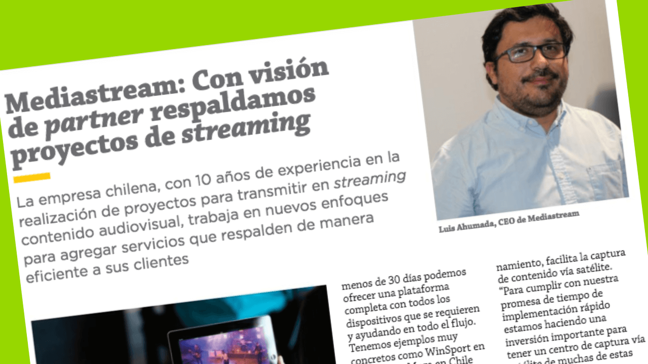 entrevista lucho ahumada, streaming