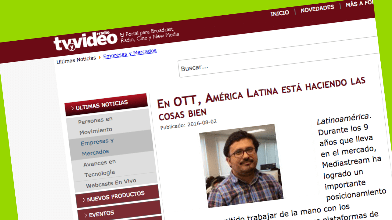 entrevista lucho ahumada, tv y video