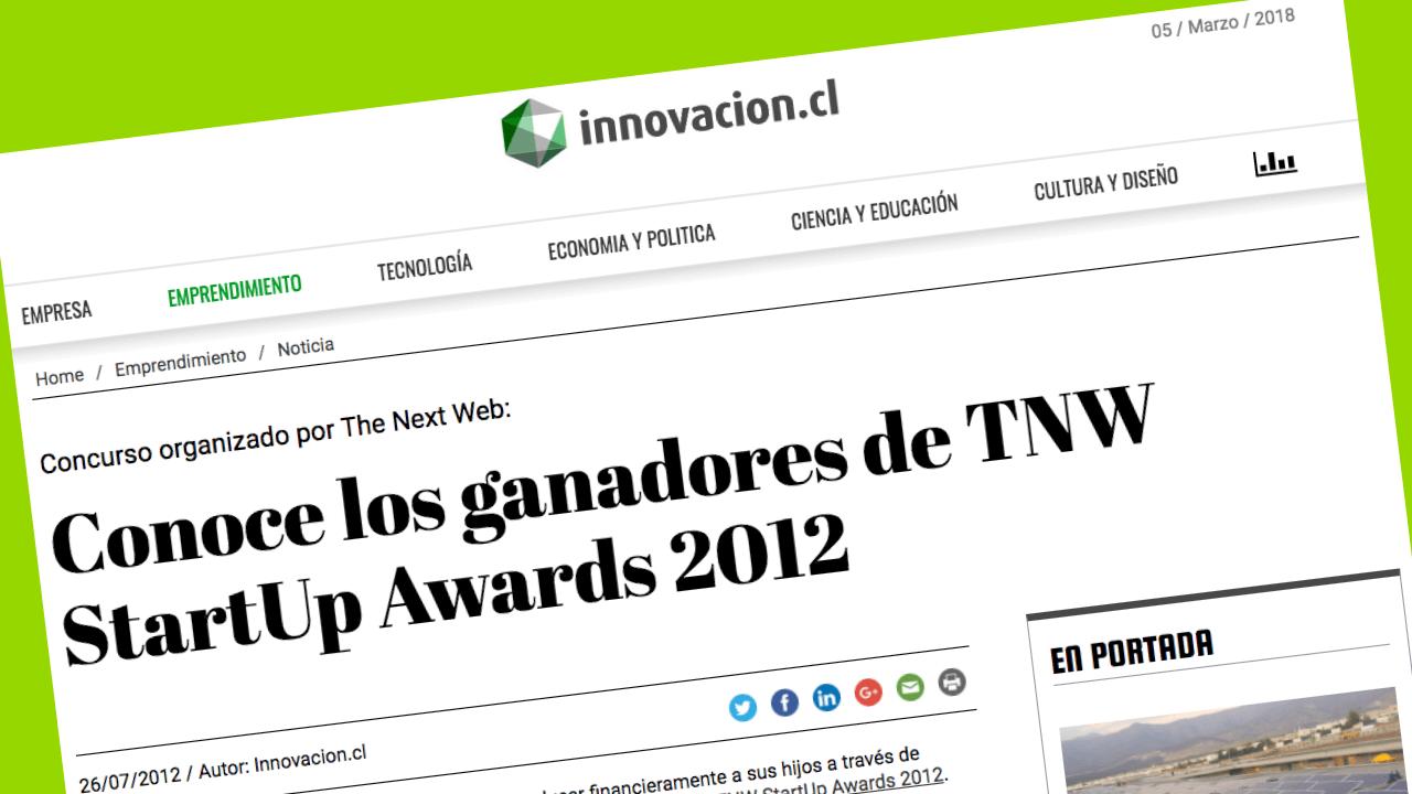 ganadores TNW Start up 2012
