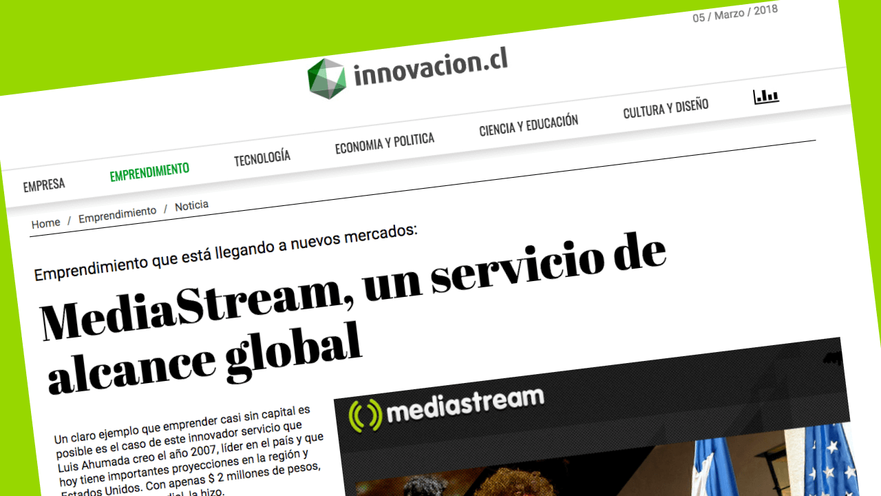 Mediastream alcance global
