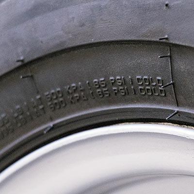 Pumpning af dæk step 3