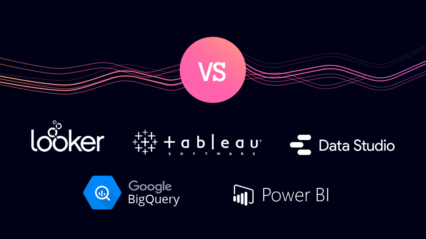 Tableau vs Looker vs Power BI vs Google Data Studio vs BigQuery