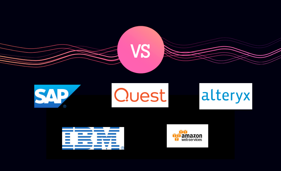 Alteryx vs Quest vs IBM vs SAP vs Amazon Web Services