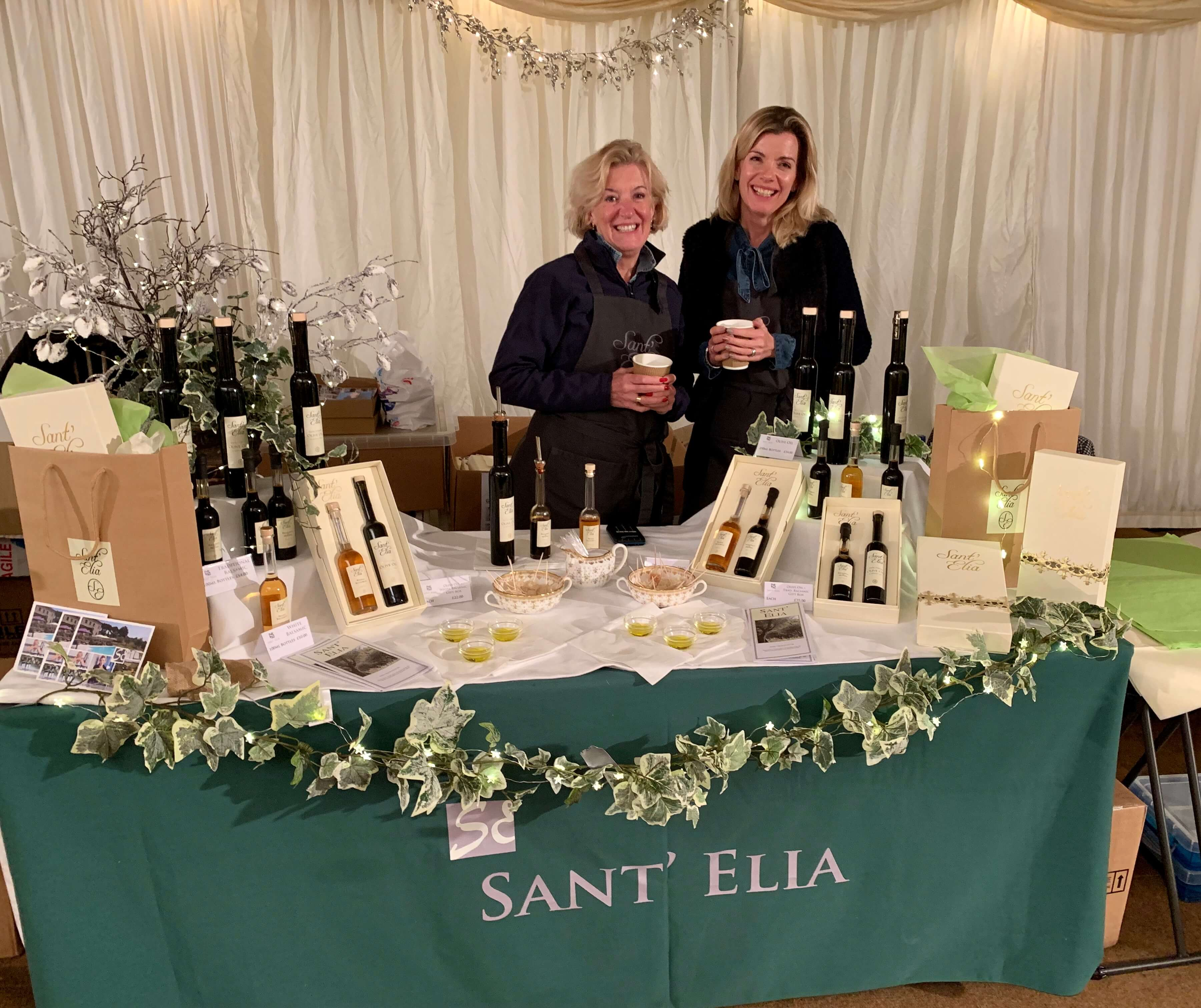 At the Beaufort Christmas Fair 2018
