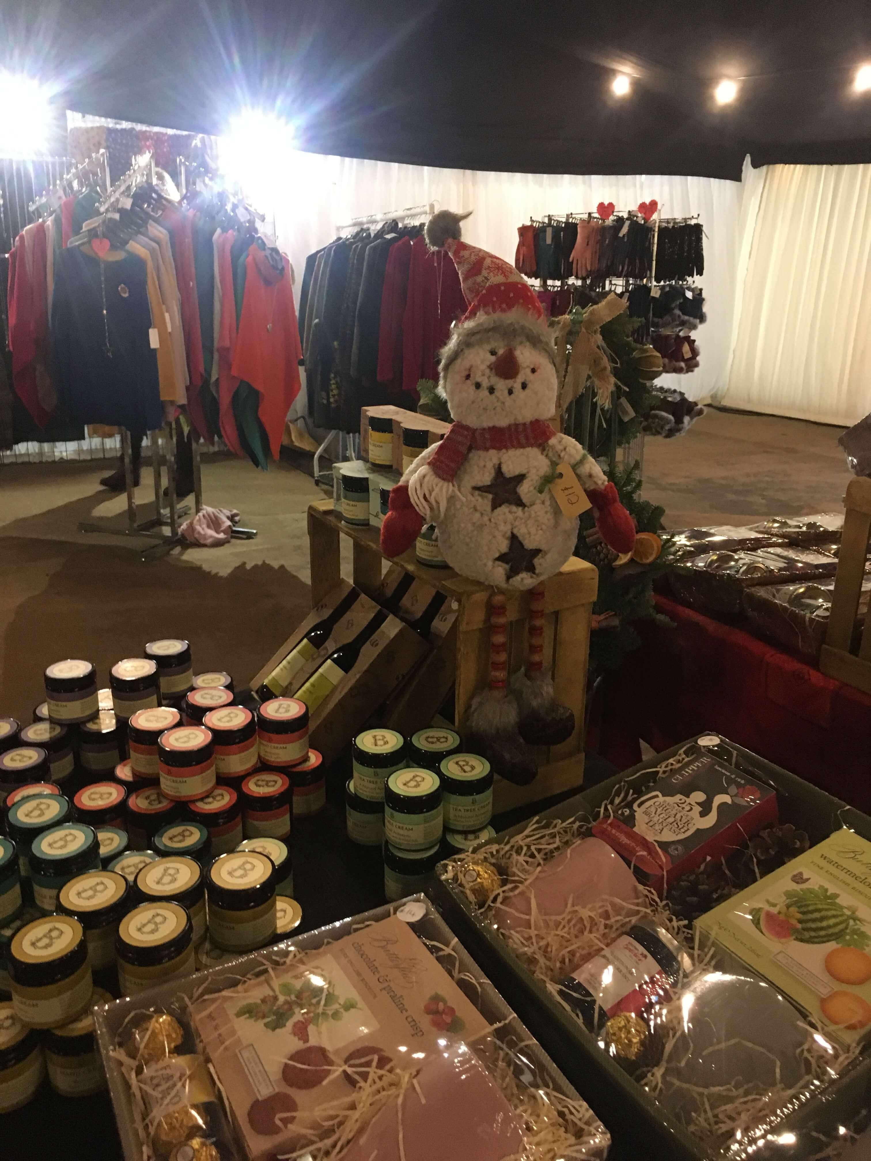 The Beaufort Christmas Fair Stall Holder