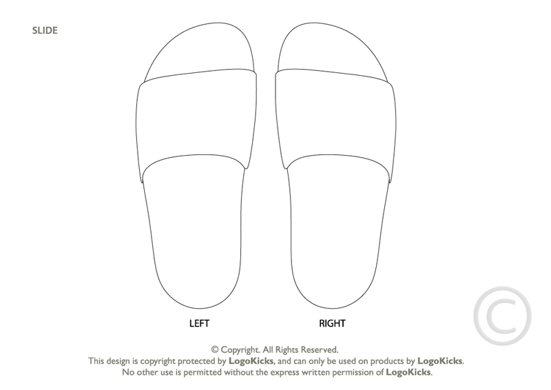 slip-on sneaker template