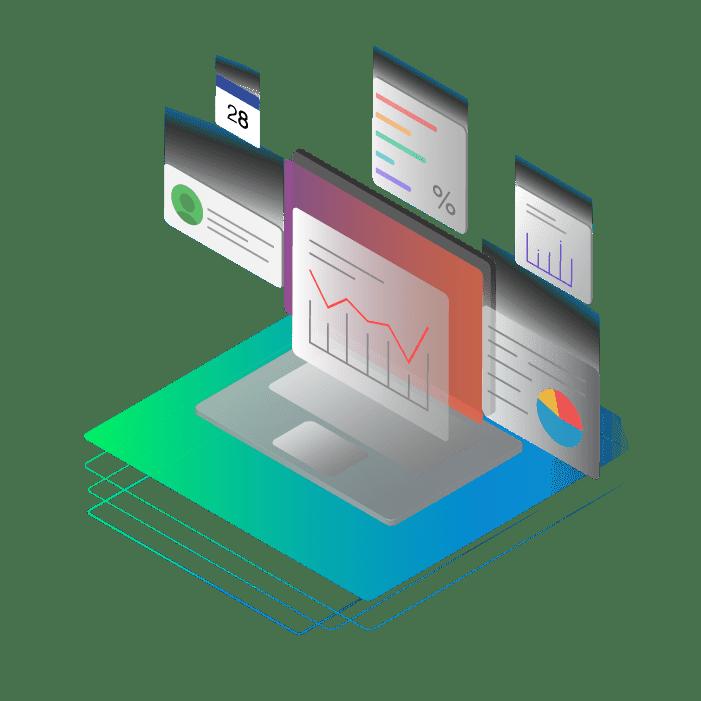 Sales Reporting Website Design in The Woodlands
