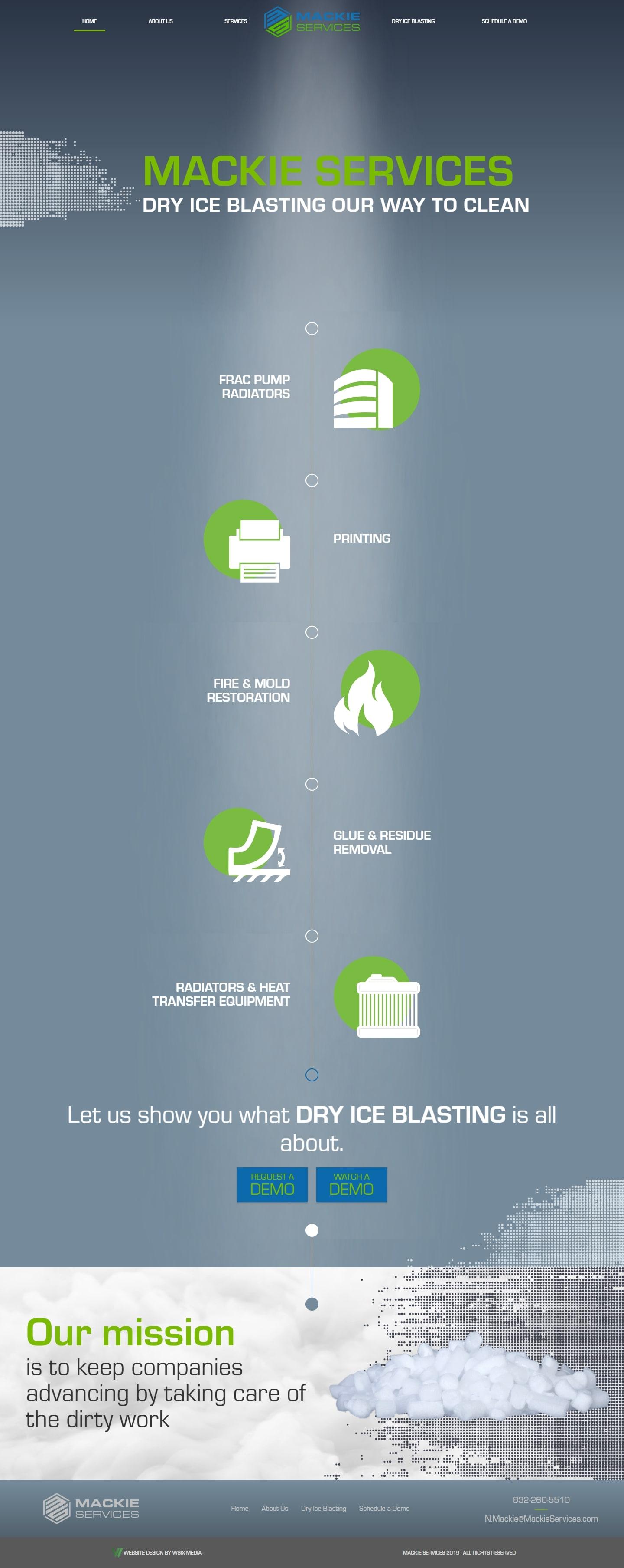 Bigotes The Woodlands Web Design Page