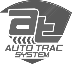 Auto Trac Down Arrow White Logo Design in The Woodlands