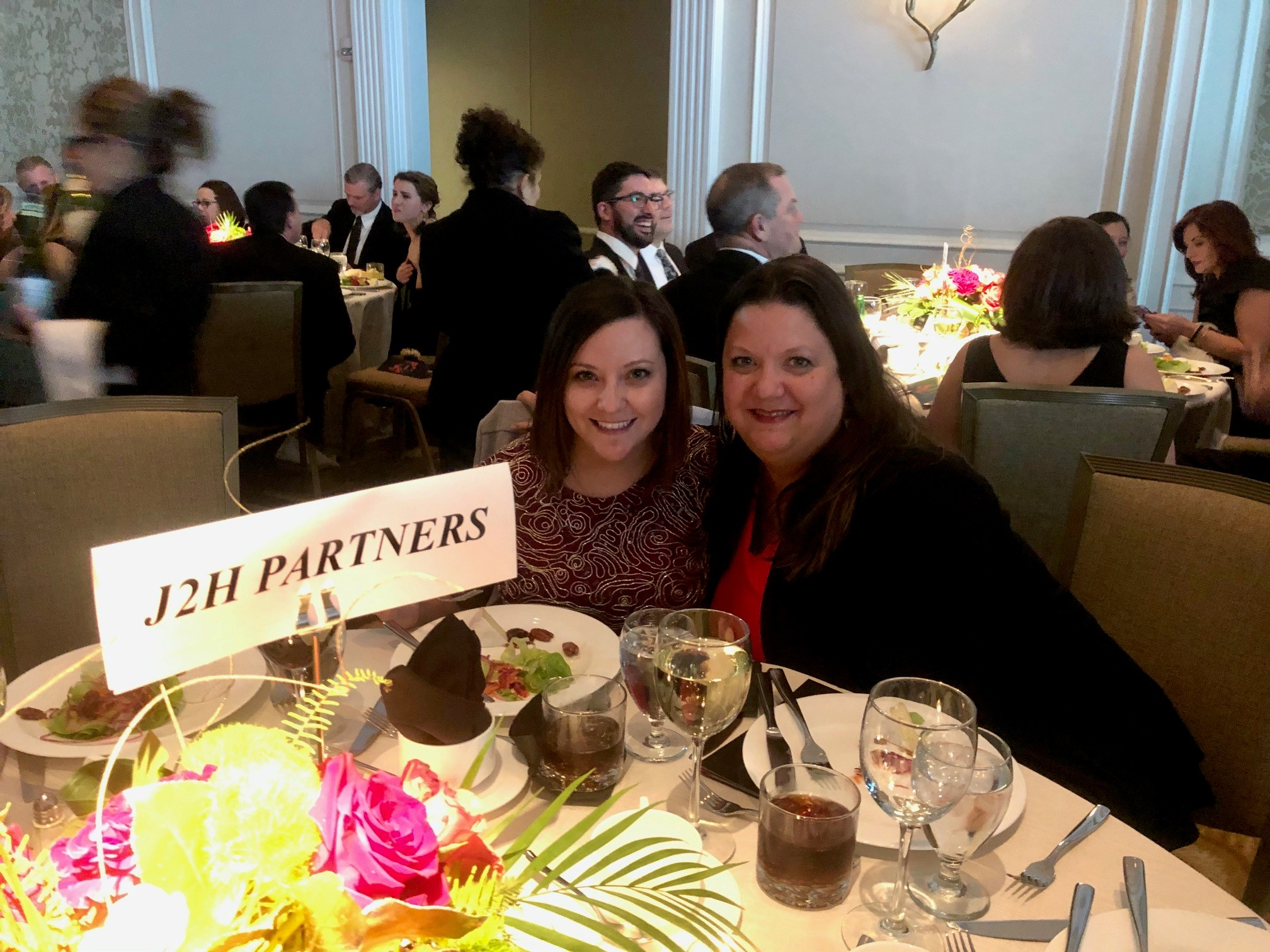 Two ladies at NAIOP event