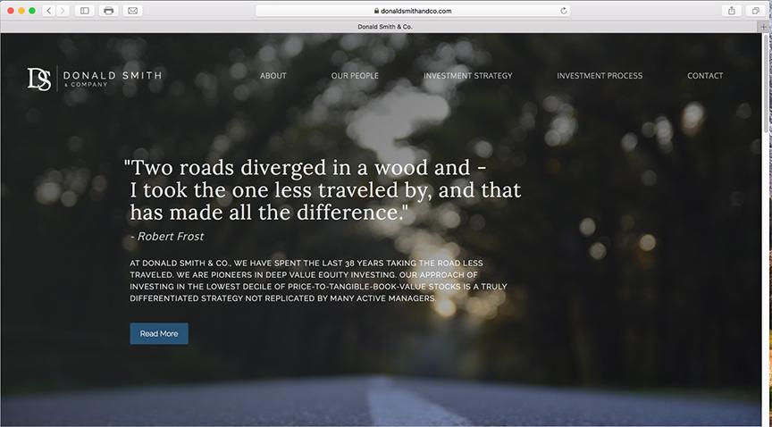 Emerson Ward Website Design