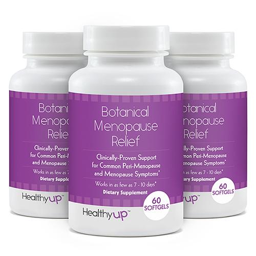 Botanical Menopause Relief Supplement