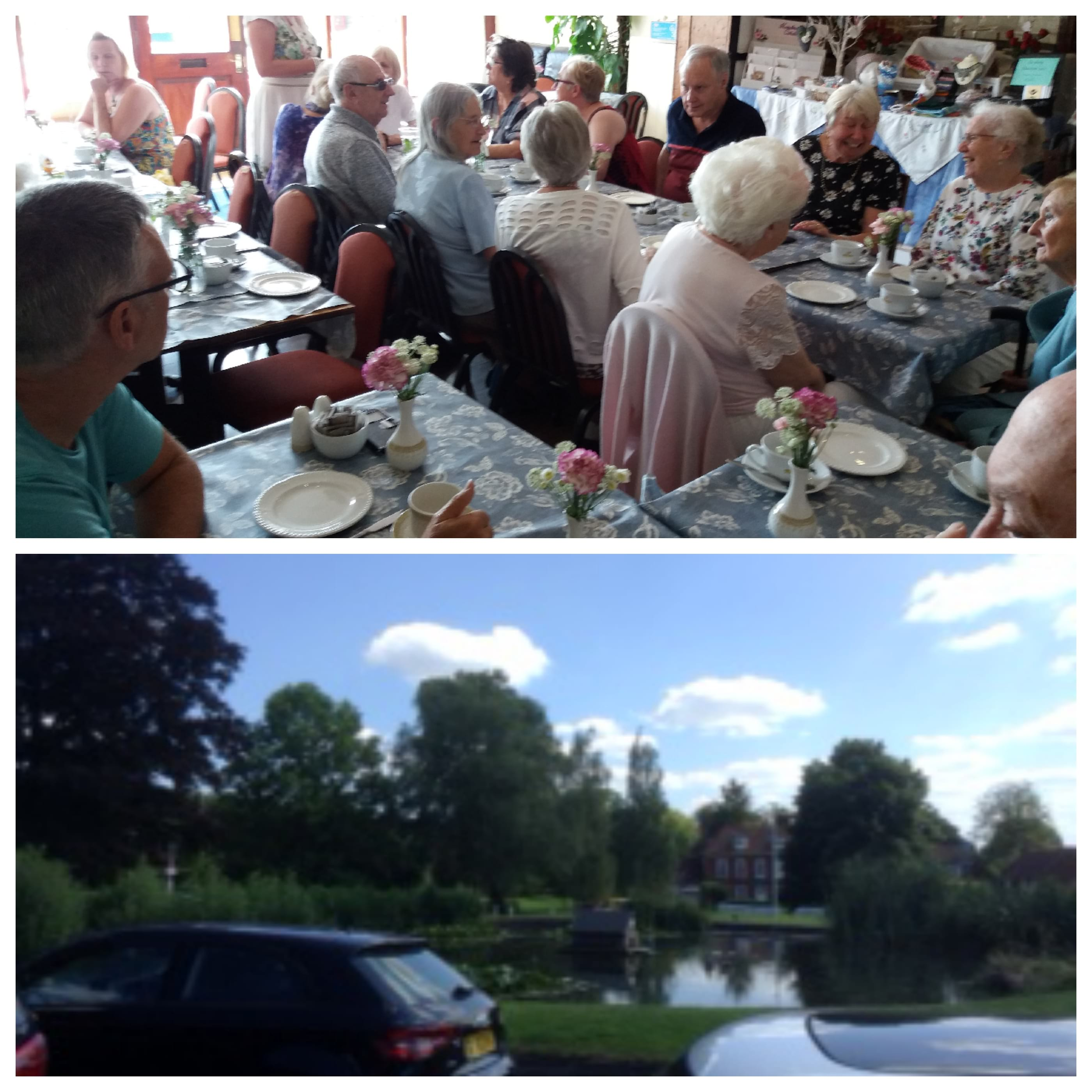 Visit to Otford Tea Rooms for cream tea