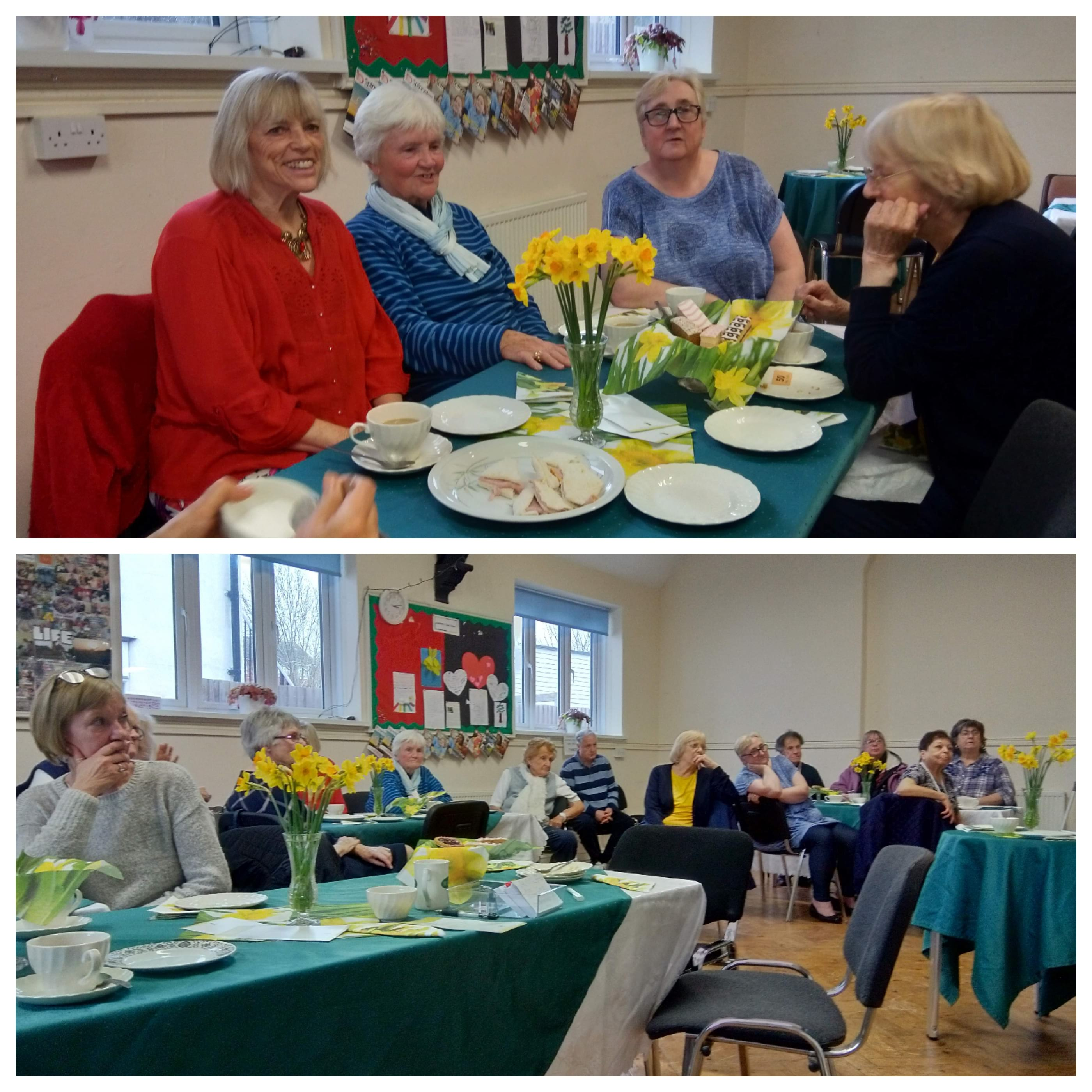 Our tea rooms. Next meeting on 4th March 2020, all welcome for tea cakes and a chat.