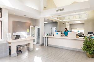 Photo of Interior of TPTCU Lobby