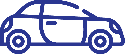Icon of Car for Vehicle Loans