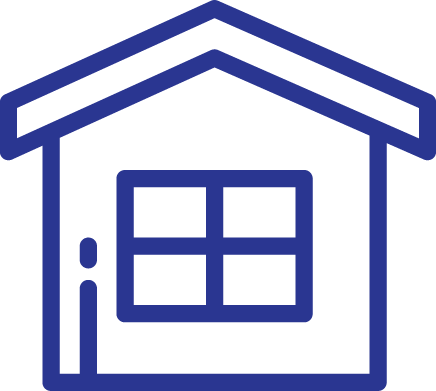 Icon of House for Real Estate Loans