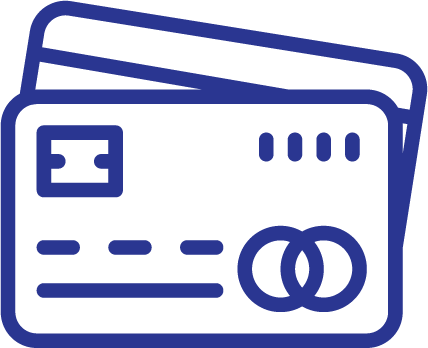 Icon of Credit Card for Pay Off Debt or Save Calculator