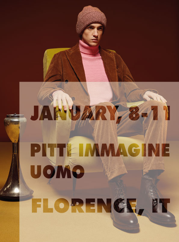 WE'RE READY FOR PITTI!