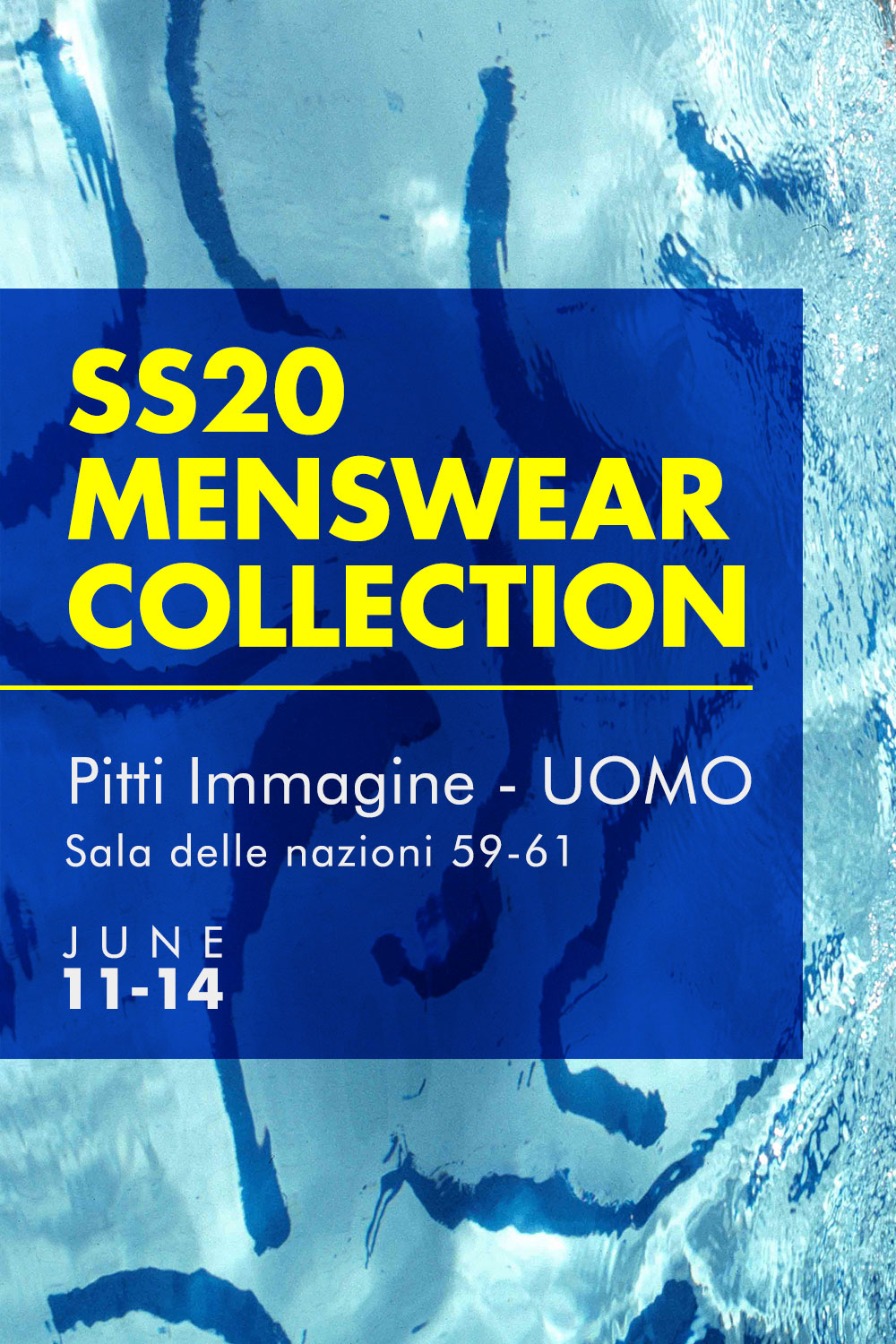 THE MENSWEAR COLLECTION IS READY TO HIT THE PITTI!