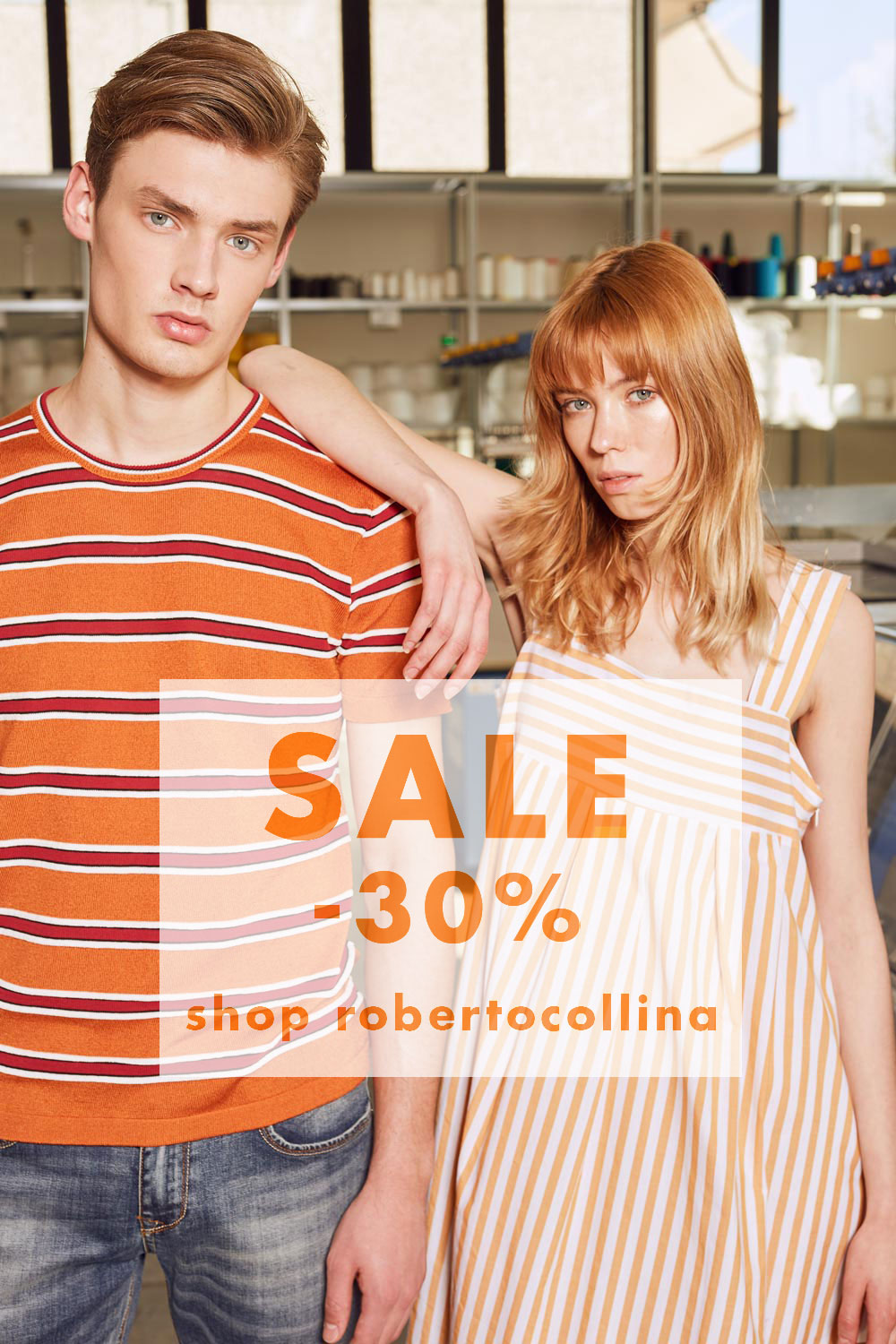 SUMMER WILL NO LONGER BE THE SAME… WITH THE ROBERTO COLLINA SALES!