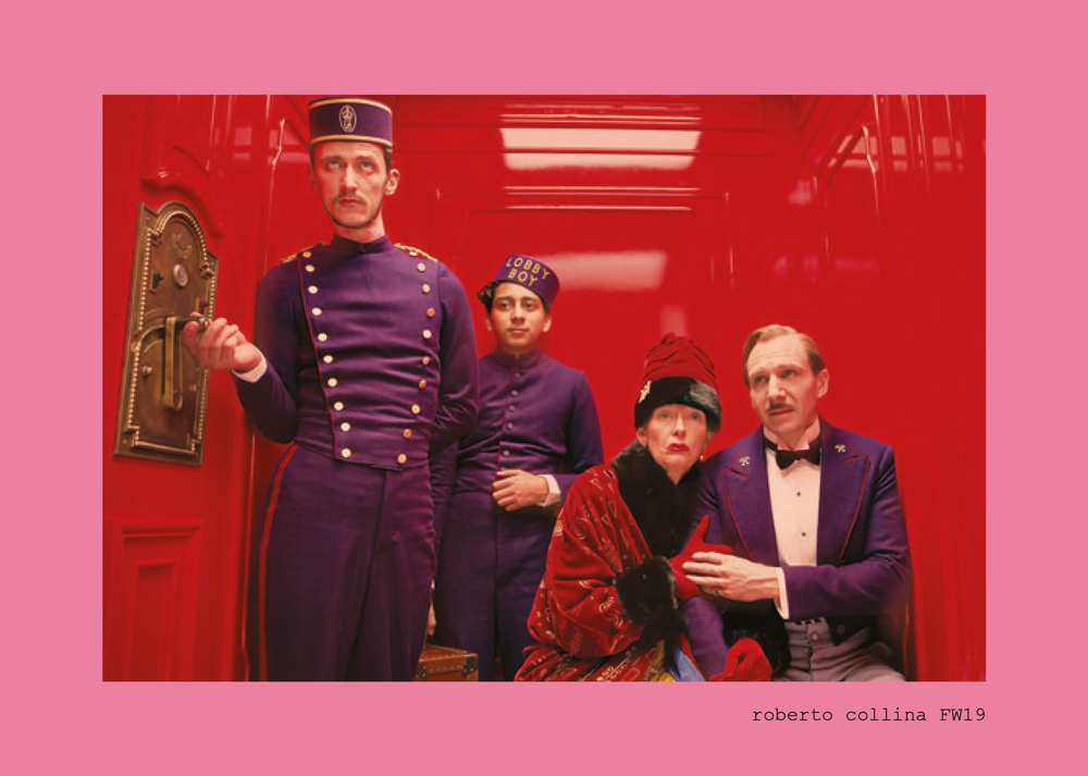 ROBERTO COLLINA'S GRAND BUDAPEST HOTEL FOR FALL WINTER 19