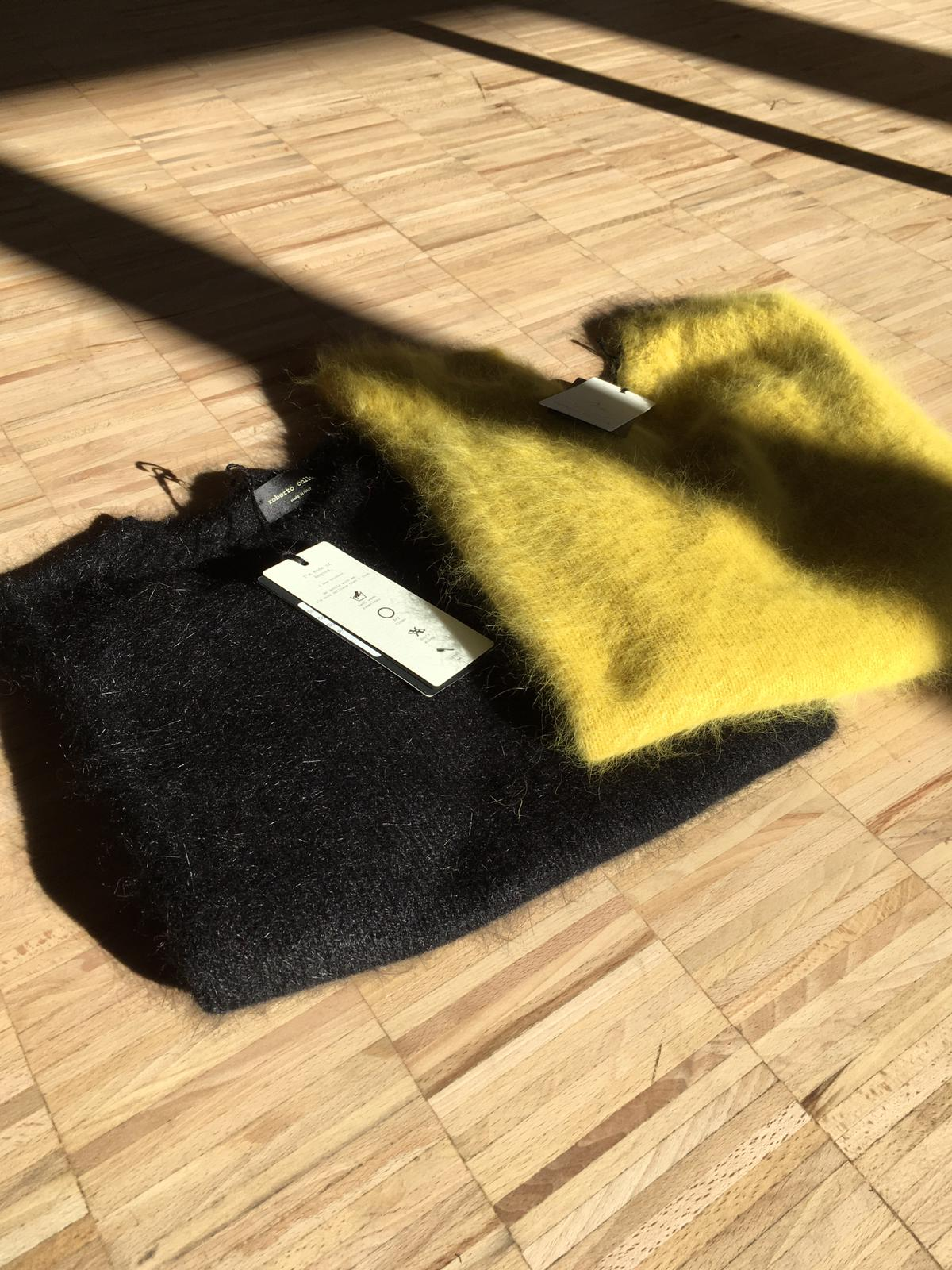 SUSTAINABILITY AT ROBERTO COLLINA STARTS WITH ANGORA