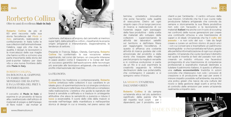 ROBERTO COLLINA PROTAGONIST ON LIFEEMOTIONS