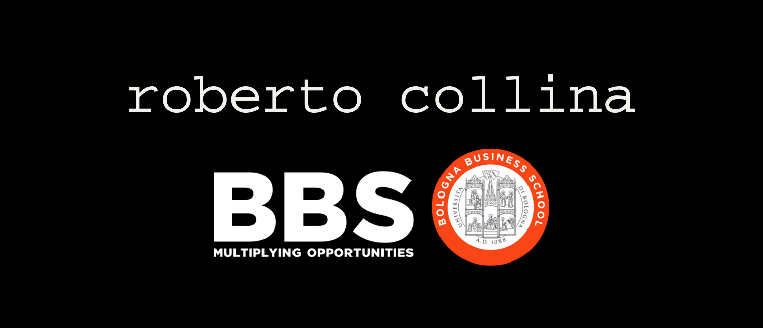 ROBERTO COLLINA INVESTS IN THE FUTURE AND IN YOUNG PEOPLE WITH THE BBS (BOLOGNA BUSINESS SCHOOL) REACT INNOVATION PROGRAM.