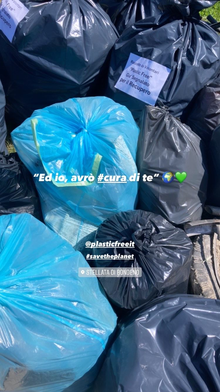 CLEANING OUR PLANET WITH PLASTIC FREE